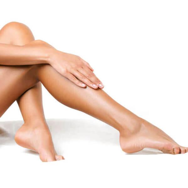 épilation douce jambes