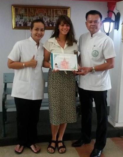 diplome massage thailandais